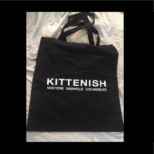 Kittenish tote bag